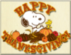 Happy Thanksgiving! -- Snoopy