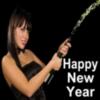 Happy New Year -- Sexy Girl