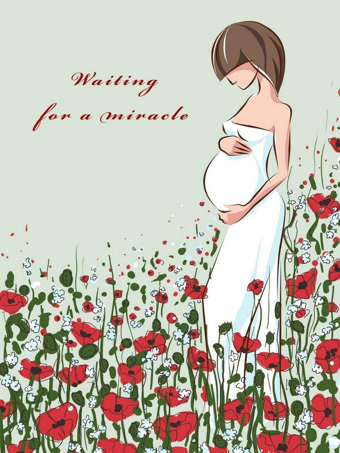 Прикольные поздравления с днем рождения беременным