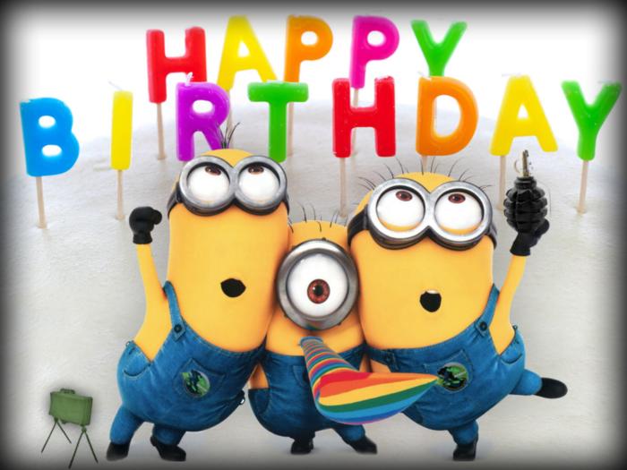 Happy Birthday -- Minions