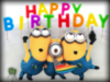 Happy Birthday -- Minions