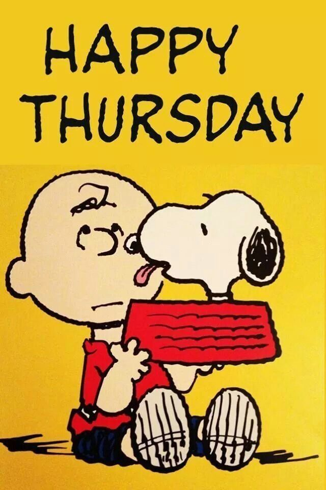 Happy Thursday -- Snoopy