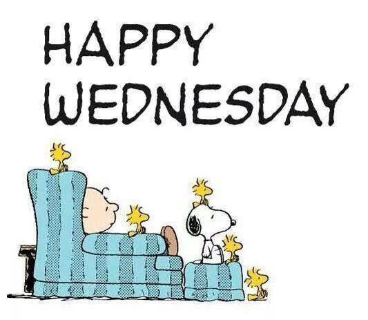 Happy Wednesday -- Snoopy