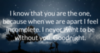 I love you good night quote