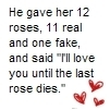 He Gave Her 12 Roses