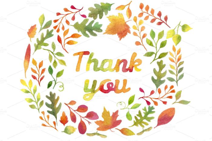Thank You -- Autumn