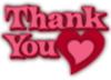 Thank You -- Heart