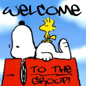 Welcome to the Group! -- Snoopy