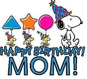 Happy Birthday Mom! -- Snoopy