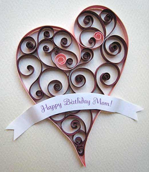 Happy Birthday Mom! -- Heart