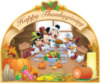 Happy Thanksgiving -- Disney Characters