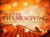 Happy Thanksgiving -- Quote