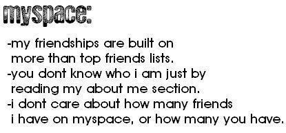 Myspace :