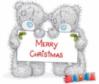 Merry Christmas -- Teddy Bears
