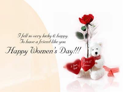 Happy Women's Day, Friend!