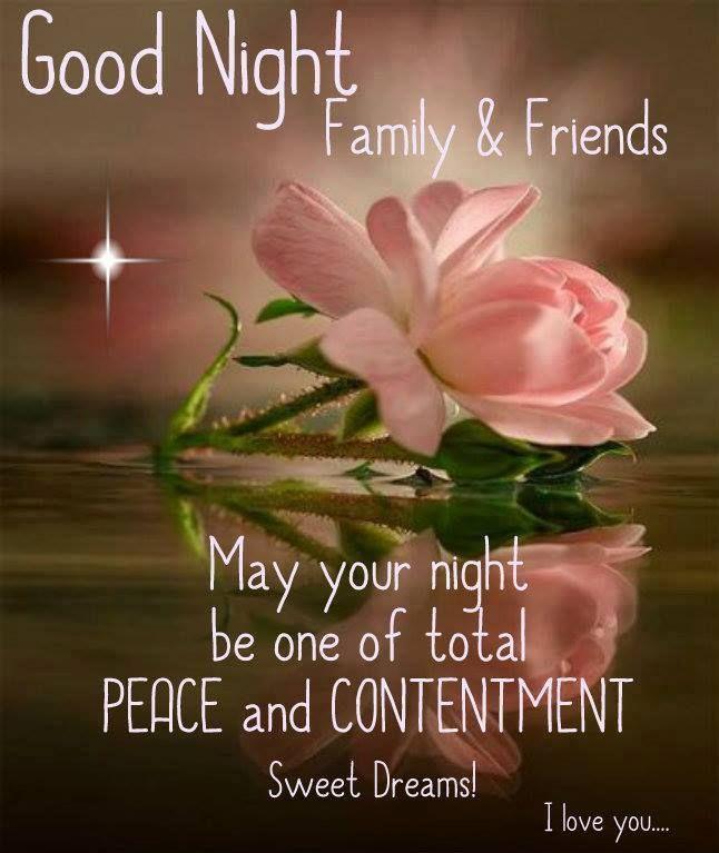 Good Night Family & Friends