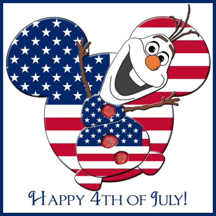 Happy 4th of July! -- Olaf