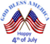 Happy 4th of July! God Bless America