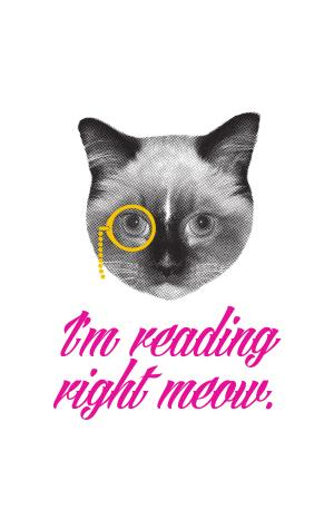 I'm reading right meow.