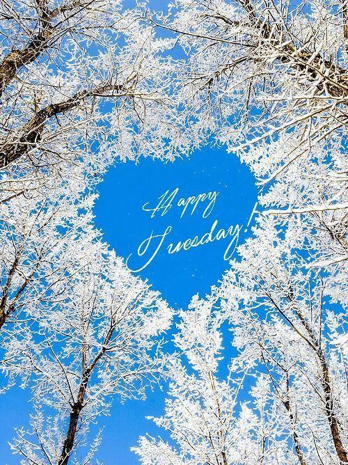 Happy Tuesday! -- Winter Heart