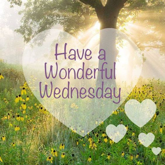 Have A Wonderful Wednesday -- Heart