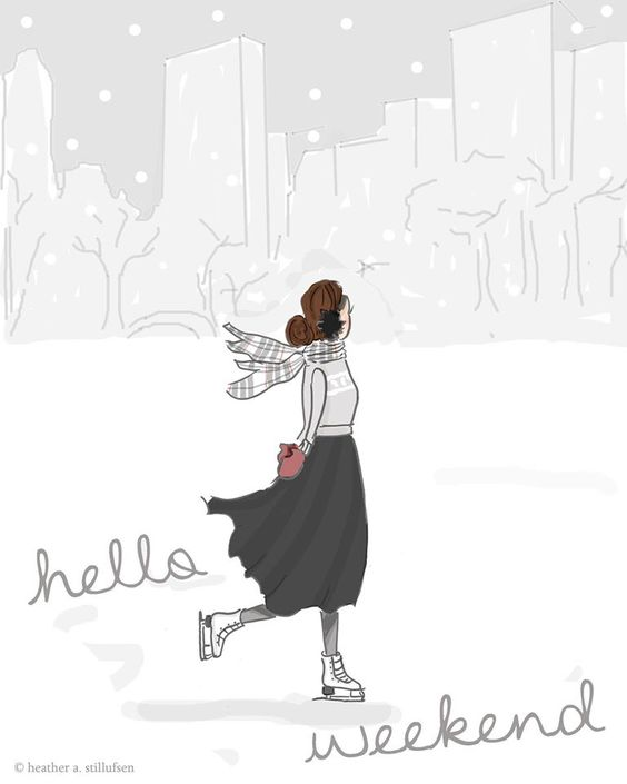 Hello Weekend -- Winter Time