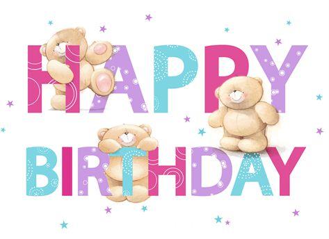 Happy Birthday -- Teddy Bears