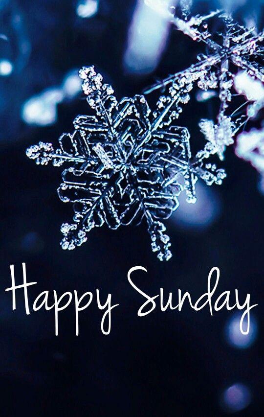 Happy Sunday -- Snowflake