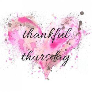 Thankful Thursday -- Pink Heart
