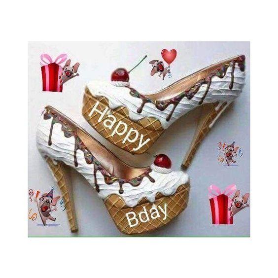 Happy Birthday -- Ice Cream Shoes