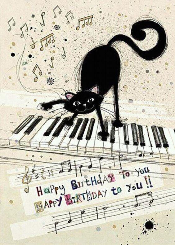 Happy Birthday To You! -- Black Cat