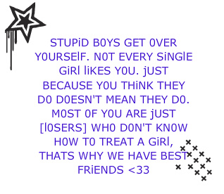 Quotes About Love Being Stupid : Stupid Boys :: Quotes :: MyNiceProfile.com