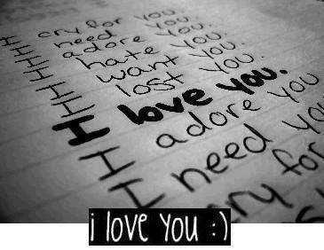 I Love You I Adore You I Need You