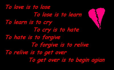 To Love Is To Lose