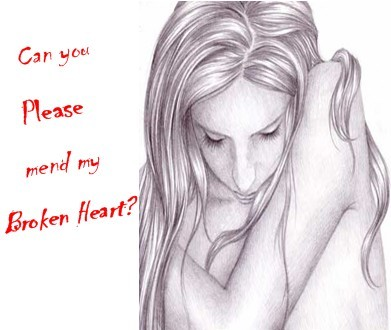 Can You Please Mend My Broken Heart?