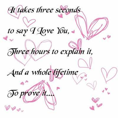 I Love You Three Seconds