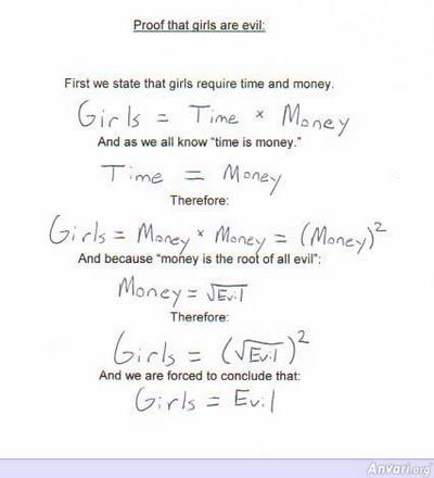 Girls Evil