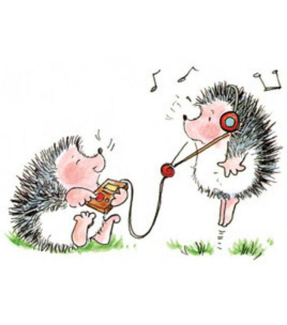 Music -- Cute hedgehogs