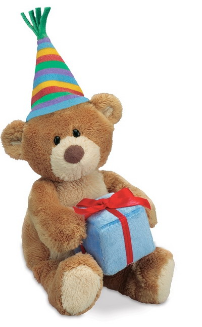 Happy Birthday Bear With Present
