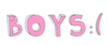 Boys :(