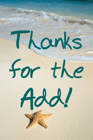 gif thank you for the add beach