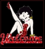 Welcome Doll Red betty boop
