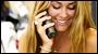 Girl Flirting On The Phone