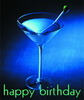 Happy Birthday Martini Drink