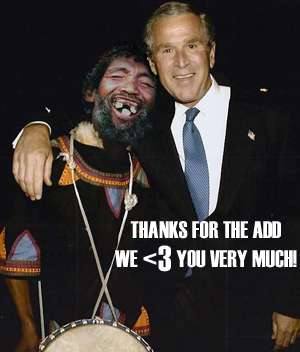 Thanks For The Add We <3 Very Much Bush