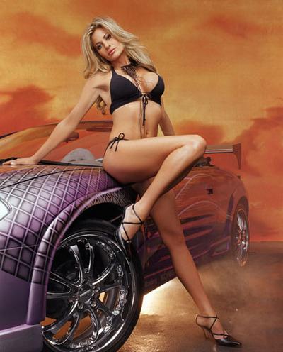 Hot Girl Car
