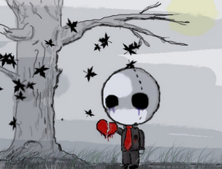Emo Kid With Heart