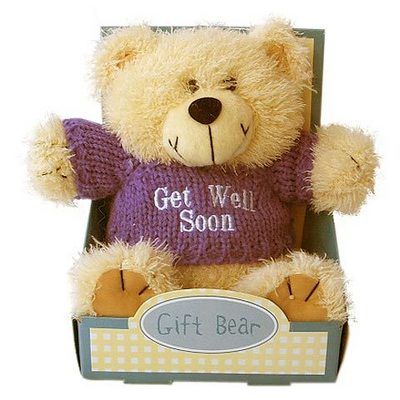 Get Well Bear In The Box