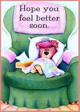 Hope You Feel Better Soon!
