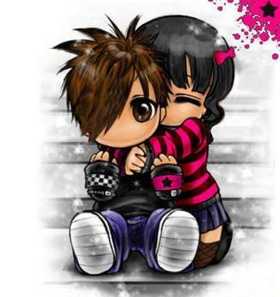 emo love you. Emo Kids Hugging